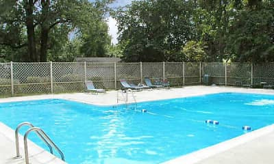 Pool, Northridge Village Apartments, 2