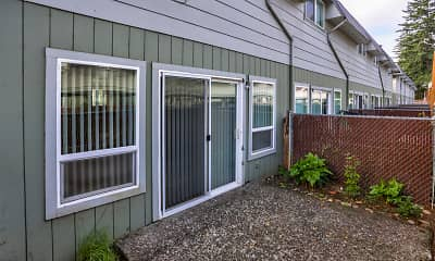 Patio / Deck, Canby Garden Townhomes, 2