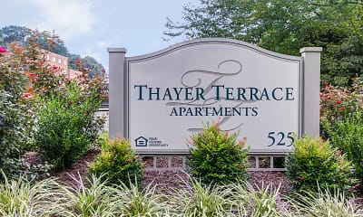 Community Signage, Thayer Terrace, 2