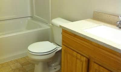 Bathroom, The Elms, 2