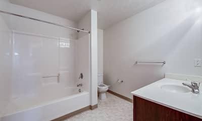 Bathroom, Hampton Club, 2