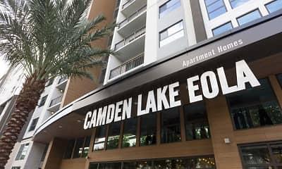 Community Signage, Camden Lake Eola, 0