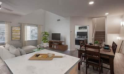 Living Room, Camden Sierra at Otay Ranch, 1