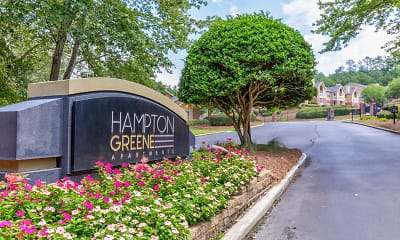 Community Signage, Hampton Greene, 2