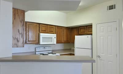 Kitchen, Sycamore Center Villas, 1