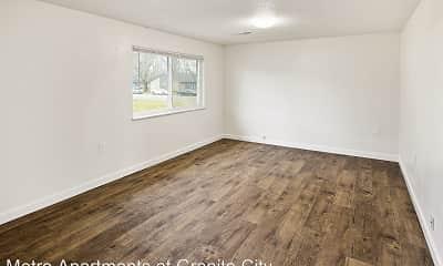 Living Room, Metro Apartments at Granite City, 0