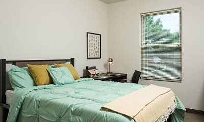 Bedroom, College Suites at Hudson Valley - Per Bed Lease, 0
