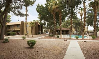 Pool, Catalina Gardens, 1