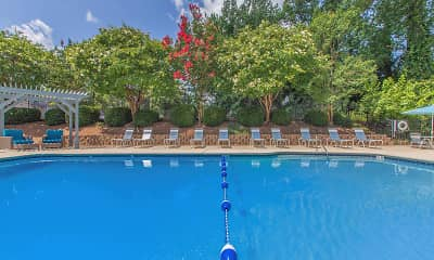 Pool, Edgewater Village Apartments, 0