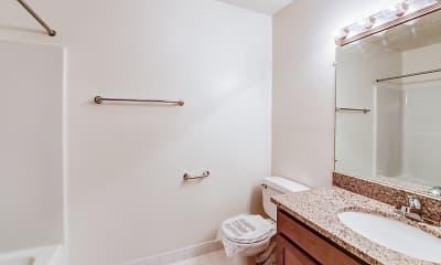 Bathroom, Parkridge Apartments, 2