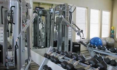 Fitness Weight Room, The Wyatt at Presidio Junction, 0