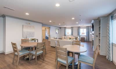 Dining Room, The Muse and Cottages at Town Center - Senior 55+, 1