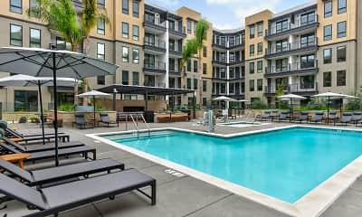 Pool, MV Apartments, 0