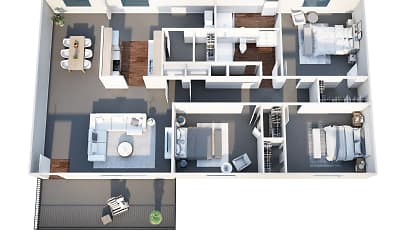 Courtyard Apartments, 2