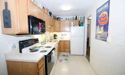 Kitchen, Evergreen Manor, 1