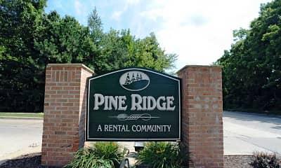 Community Signage, Pine Ridge, 2