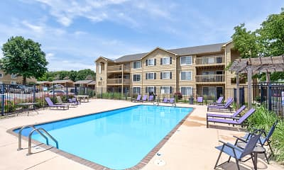 Pool, Woodway Apartments, 0