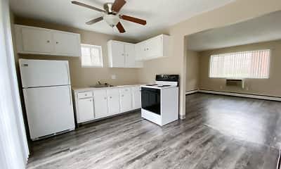 Living Room, Evergreen Village Apartments, 0