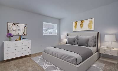 Bedroom, Sterlingwood Apartments, 2