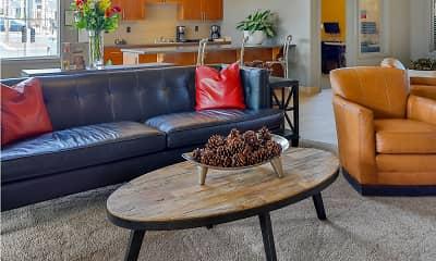 Living Room, The Vantage, 0