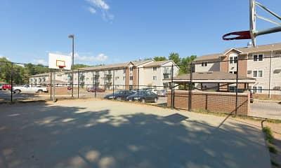 Basketball Court, Deer Ridge Apartments, 1