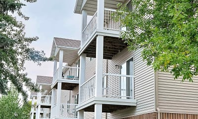 Building, Oxford Apartments, 0