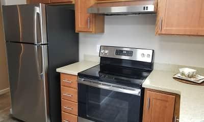 Kitchen, Evergreen Village, 0