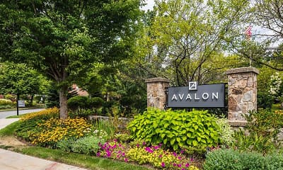 Community Signage, Avalon at Newton Highlands, 2