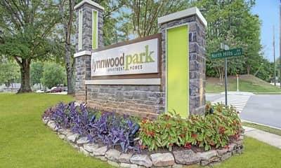 Community Signage, Lynnwood Park, 0