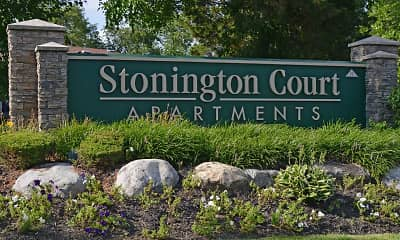 Community Signage, Stonington Court, 2