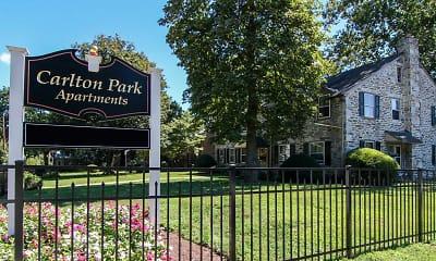 Community Signage, Carlton Park, 0