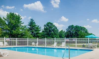 Pool, Quail Ridge Apartments, 1