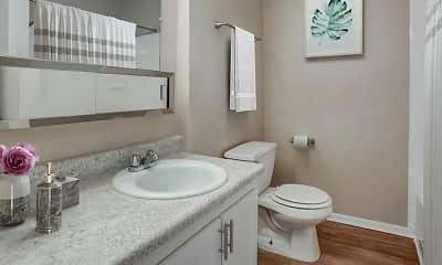 Bathroom, Flats at Wildwood, 2