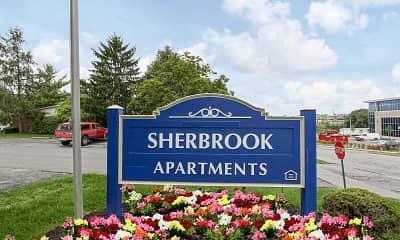 Community Signage, Sherbrook, 2