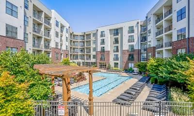 Pool, Pine Street Flats, 0