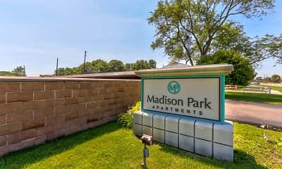 Community Signage, Madison Park, 2