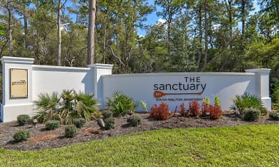 Community Signage, The Sanctuary at 331, 2