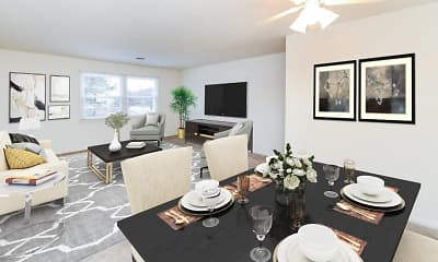 Living Room, Woodcrest Apartment Homes, 1