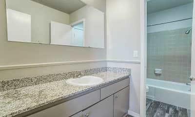 Bathroom, Cedar Hills, 2