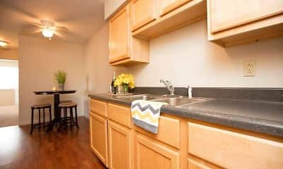Kitchen, Holland Crossing Apartments, 0