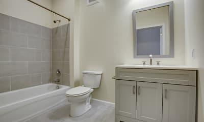 Bathroom, Howard Row, 2