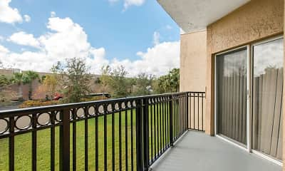 Patio / Deck, The Preserve at Deer Creek Apartments, 2