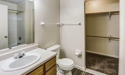 Bathroom, Berrien Woods, 2