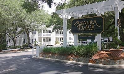 Community Signage, Azalea Place, 2
