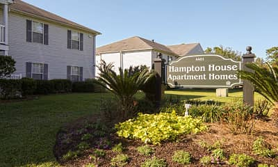 Community Signage, Hampton House Apartments, 2