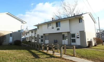 Building, Midway Square Townhomes - Affordable, 2