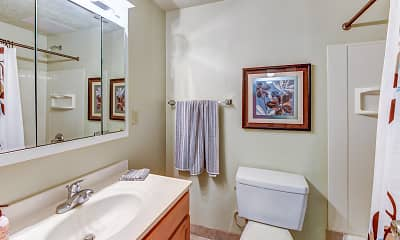 Bathroom, Chamberlain Apartments I & II, 2