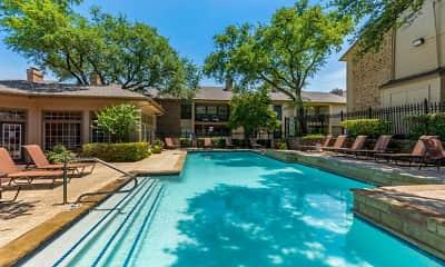 Pool, Preston Greens Apartments, 1