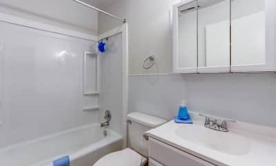 Bathroom, Monticello Village, 2