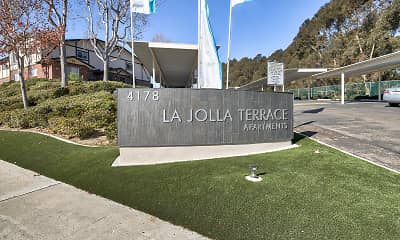 Community Signage, La Jolla Terrace, 2